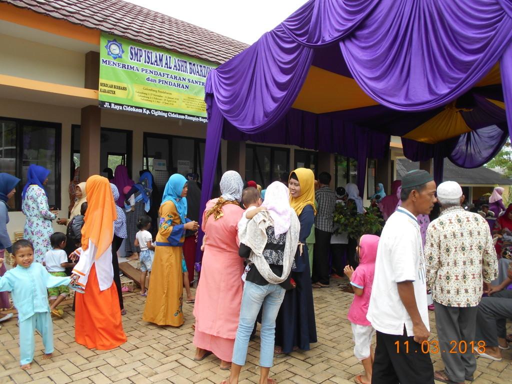 Semarak Ramadhan 1442 H, Pesantren Islam Al-Ashr- Update Donasi